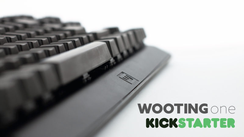 Wooting One Kickstarter