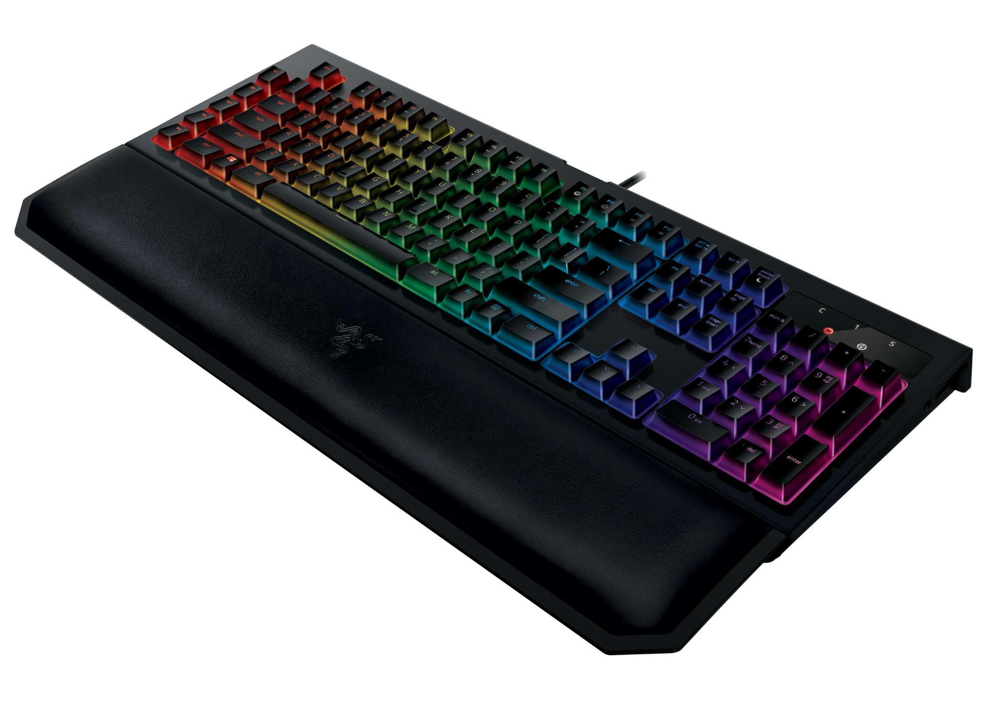 Razer Switches Mechanische Tastatur Keyboard Blackwidow X Te Chroma Neue V2 Mit Yellow