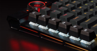 Corsair presents K100 RGB with optical switches