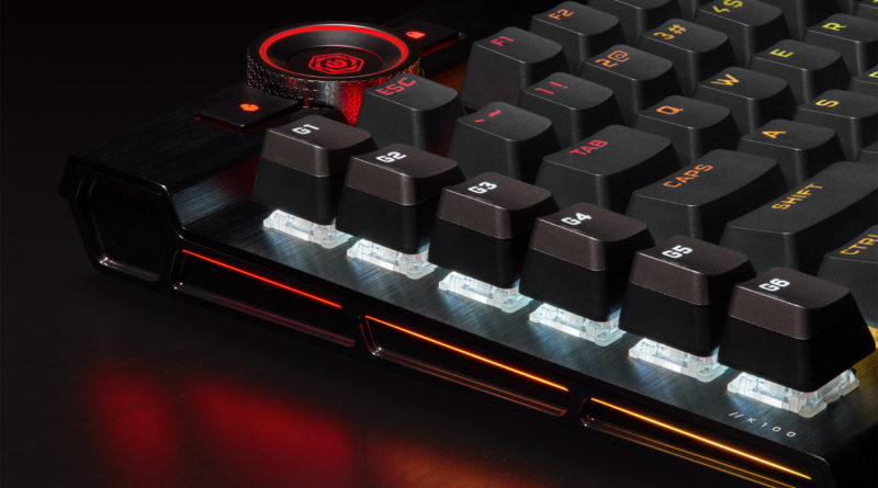 Corsair K100 RGB with optical switches